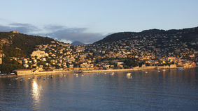 Villefranche sunrise Stock Photos