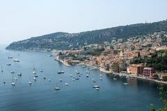 Villefranche-sur-Mer (υπόστεγο d'Azur) Στοκ φωτογραφίες με δικαίωμα ελεύθερης χρήσης