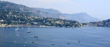 Villefranche-sur-Mer (υπόστεγο d'Azur) Στοκ Φωτογραφία