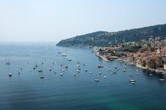 Villefranche-sur-Mer (υπόστεγο d'Azur) Στοκ φωτογραφία με δικαίωμα ελεύθερης χρήσης