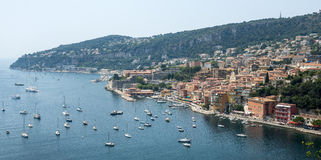 Villefranche-sur-Mer (Cote d'Azur) Стоковое Фото