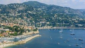Villefranche-sur-Mer (Cote d'Azur) Lizenzfreies Stockbild
