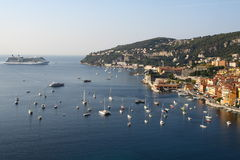 Villefranche-sur-Mer Royalty Free Stock Photo