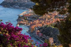 Villefranche Sur Mer in France Royalty Free Stock Image