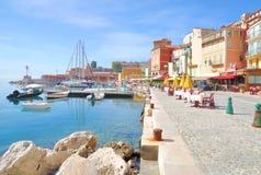 Villefranche-sur-Mer, francuski Riviera, południe Francja zdjęcia royalty free