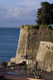 Villefranche-sur-Mer Frankreich des Fort-DU Mont Alban Stockbilder