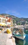Villefranche-sur-Mer, Franse Riviera, Frankrijk Stock Fotografie