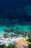 Villefranche sur mer, französischer Riviera Stockfotos