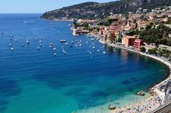 Villefranche sur mer, French Riviera Stock Photos