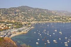 Villefranche-sur-mer, French riviera Royalty Free Stock Images