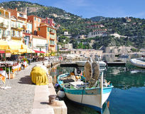 Villefranche-sur-Mer,,French Riviera,France. The picturesque village of villefranche-sur-mer,french riviera,south of france,france Royalty Free Stock Photography