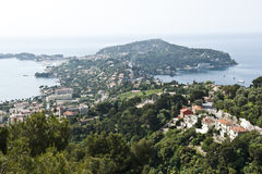 Villefranche-sur-Mer Panorama Stock Photo