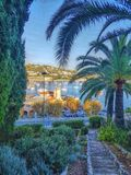 Villefranche sur mer. Picture taken in villefranche sur mer in the south of France,  alpes maritimes Royalty Free Stock Images