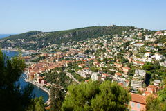 Villefranche View Stock Image