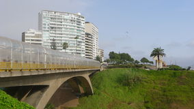 Villena γέφυρα στην περιοχή Miraflores της Λίμα Στοκ Εικόνες
