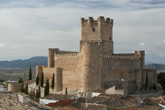 Villena Castle Stock Photography