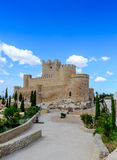 Villena Castle Royalty Free Stock Images