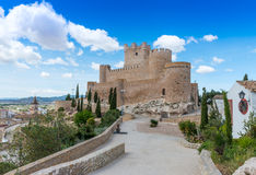 Villena Castle Stock Image