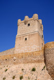 Villena Castle in Costa Blanca Royalty Free Stock Images