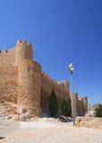 Villena Castle in Costa Blanca Alicante Spain. Royalty Free Stock Image