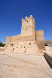 Villena Castle in Costa Blanca Alicante Spain. Stock Photos