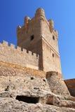 Villena Castle in Costa Blanca Alicante Spain. Royalty Free Stock Photos