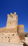 Villena Castle in Costa Blanca, Spain Stock Image