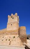Villena Castle in Costa Blanca, Spain Stock Image