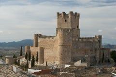 Villena-Schloss Stockfotografie