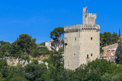 Villeneuve, Philipp le Bel Tower,  France Royalty Free Stock Photography