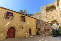 Villerouge Termenes, Frankrike royaltyfri fotografi