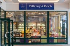 Villeroy & Boch商店在Parndorf,奥地利 免版税图库摄影