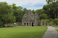 Villers修道院,比利时 库存图片
