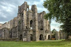 Villers的Villers修道院 库存图片