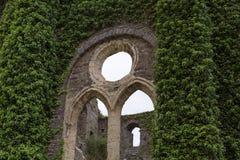 Villers La Ville Abbaye Arkivfoto