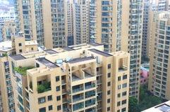 Villes chinoises Image libre de droits