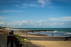 Villes du Brésil - natal, RN Image libre de droits
