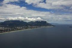 Villes et beaux voisinages, Barra da Tijuca en Rio de Janeiro Brazil photo stock