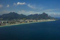 Villes et beaux voisinages, Barra da Tijuca en Rio de Janeiro Brazil photo libre de droits