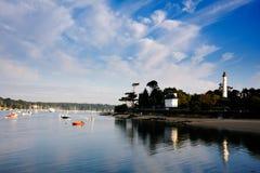 Villes et villages de Brittany : Benodet Photo libre de droits