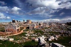 Villes mortes de la Syrie photos libres de droits