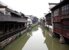 Villes Wuzhen de l'eau Photographie stock libre de droits