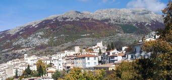 Villetta Barrea, Abruzzo, Italië Royalty-vrije Stock Fotografie