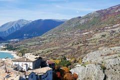 Villetta Barrea, Abruzzo, Italien Arkivfoto
