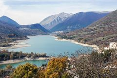 Villetta Barrea, Aquila, Ιταλία στοκ εικόνες