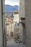 Villetta Barrea, Aquila, Ιταλία Στοκ Φωτογραφίες