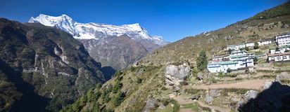 Villgae in the Himalayas Stock Image
