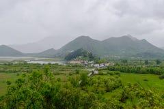 Villiage de Virpazar, Montenegro Imagens de Stock