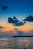 Villingili - le Maldive Fotografie Stock Libere da Diritti