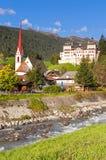 Villlage Альпов стоковая фотография rf